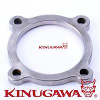 Kinugawa Turbo Flange 4 bolt for Garrett GT3071R GT3076R 740902 1 garrett turbo flanges bolted flanges  -