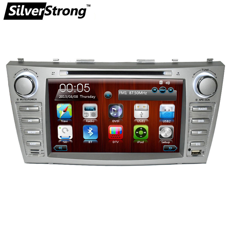 SilverStrong Car DVD GPS For TOYOTA CAMRY AURION 2006-2011 with RDS 2 din dvd car stereo gps navigation map navitel camry dvd цены