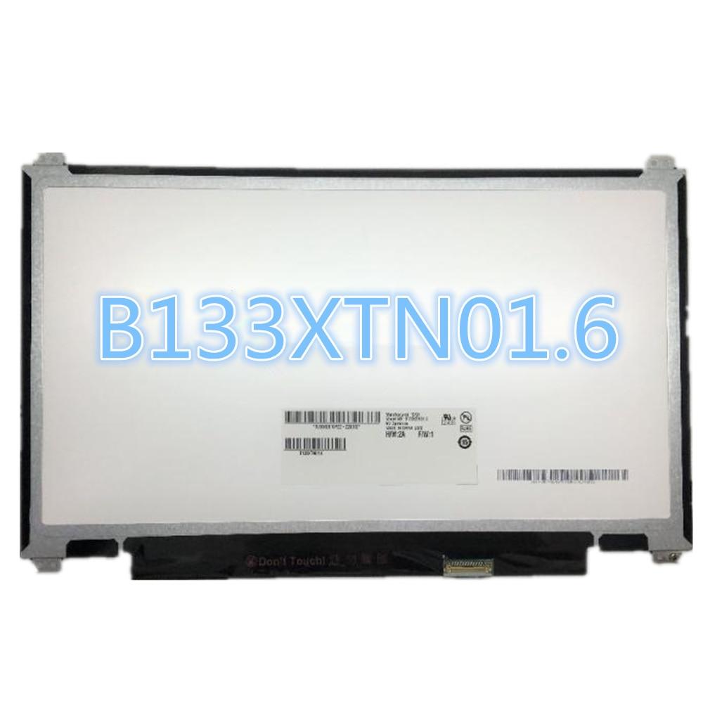 LAPTOP LCD SCREEN FOR AU OPTRONICS 13.3 B133XTN01.6 WXGA HD Moniter Display Replacement Matrix 1366*768 30pins