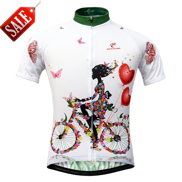 JESOCYCLING Cycling Jersey Women s Breathable Short Sleeve Cycling Jerseys  Sportswear Bike Quick-dry Cycling Clothing 47804d22f