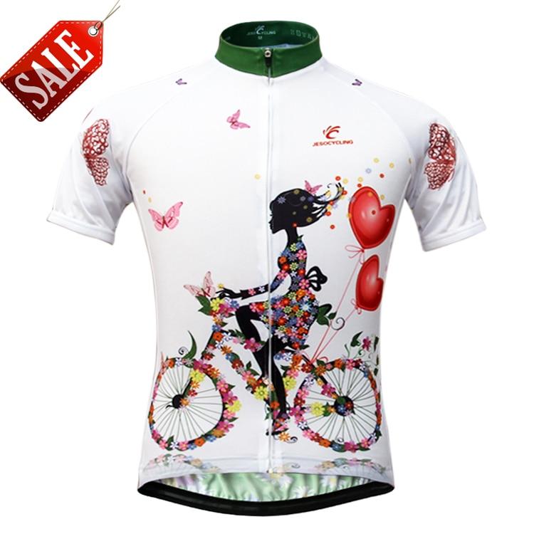 Jesocycling Bersepeda Jersey Wanita Bernapas Lengan Pendek Bersepeda Kaus Olahraga  Sepeda Cepat Kering Bersepeda Pakaian ef20481336