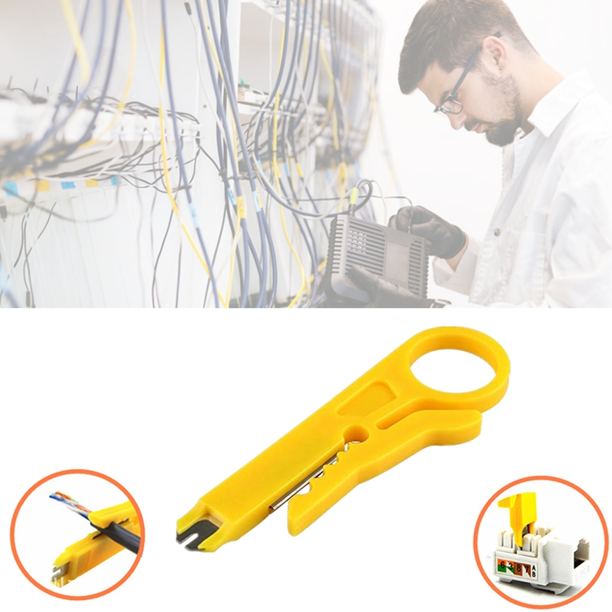 Mini Portable Wire Stripper Knife Crimper Pliers Crimping Tool Cable Stripping Wire Cutter Multi Tools Cut Line Pocket Multitool(China)