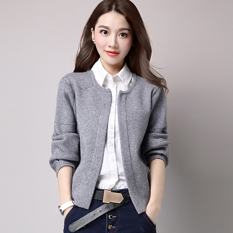 2017 Autumn Winter Women s Sweaters And Cardigans Ladies Warm Wool Sweater Cardigan Female Knitted Elegant
