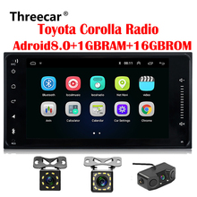 2 din Car radio Android GPS for Toyota Old Corolla Universal radio wifi Capacitive 7 inch DVD player