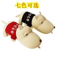Plush Fabric Toy Taste Big Head Dog Long Dog Doll Bamboo Charcoal Bag Doll Puppet Auto