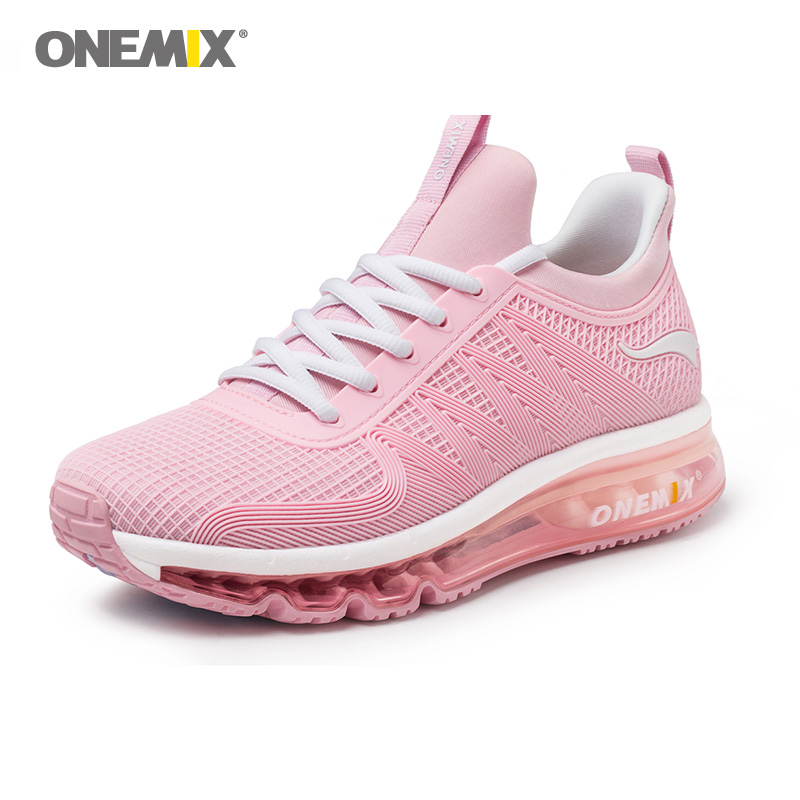 ONEMIX Zapatos De Mujer Woman Walking Shoes Pink Classic Jogging Sneakers Outdoor Footwear Trail Nice Trends Athletic Trainers