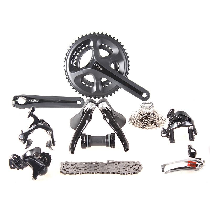 Shimano 105 5800 2x11 s 22 s Vitesse 50/34 53/39 170mm 175mm Groupset Kit pour La Route vélo Vélo