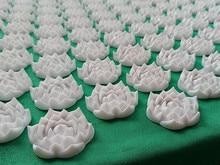 (67*42 cm) Lotus çivi akupunktur masaj pedleri masaj iğne yastığı Yoga masaj Mat acupressure masaj minderi
