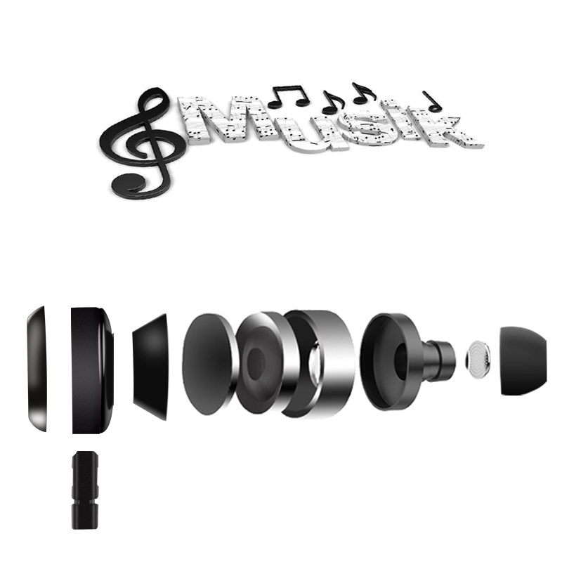 Gsdun Ακουστικά Ακουστικά HiFi 3,5 - Φορητό ήχο και βίντεο - Φωτογραφία 5