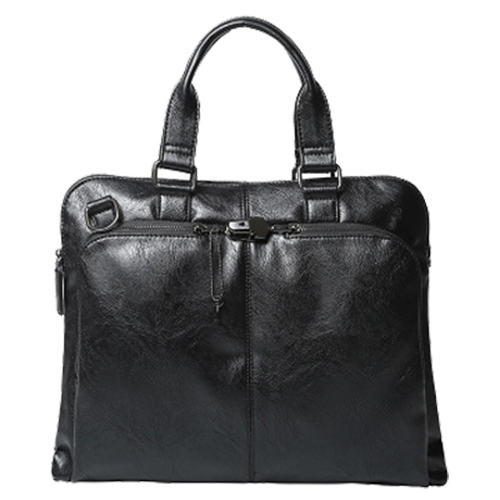 ETONWEAG черный Искусственная кожа мужская повседневная сумка/Бизнес посылка/портфель/Диагональ посылка 39*30*8 см