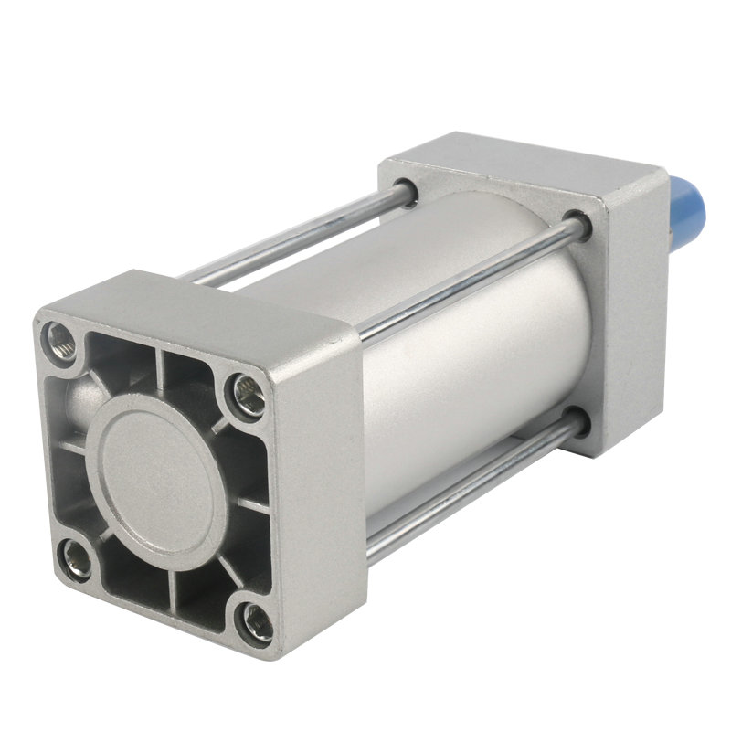 SC50*25 / 50mm Bore 25mm Stroke Compact Double Acting Pneumatic Air Cylinder high quality double acting pneumatic gripper mhy2 25d smc type 180 degree angular style air cylinder aluminium clamps