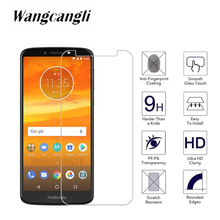 2.5D Clear Tempered Glass Film for Motorola E5 Plus phone MOTO PLAY Protective HD Screen Protector