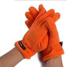 Tactical Gloves Thermal Ultralight Fleece Warm Outdoor Fun & Sports Outdoors Fitness Lace Winter Gloves Men Women Gloves Winter