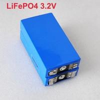 2pcs 3.2v rechargeable battery LiFePO4 li polymer cell 20ah for 12V battery pack e-bike UPS Power convertor HID solar light
