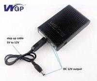 Free custom logo power bank 5V 12V 12V 4400mAh emergency backup battery with 12V convertor cable|Uninterrupted Power Supply| |  -
