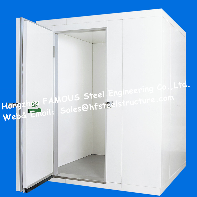 Chinese Factory Supply Commercial Walk in Freezer Cold And Freezer Room With Sliding Door For Fresh Vegetables