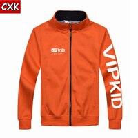 Autumn Spring Vipkid Teacher Dino Zipper Up Jacket Sweatshirts For Men Or Women Overcoat doll plush toy