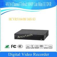 Dahua Free Shipping Original 4 8 16Ch Tribrid 1080P Lite Mini 1U HDCVI DVR No Logo