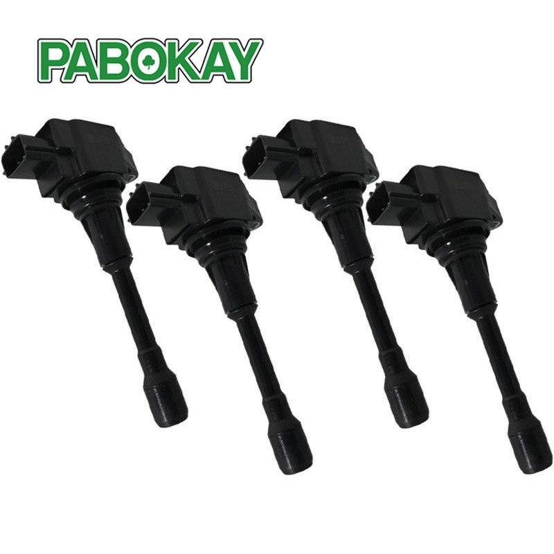 New 4 Pieces x Ignition Coil C1838 UF708 224481KT0A 22448 1KT0A E39 CUC16 C500 E1208 5C1895