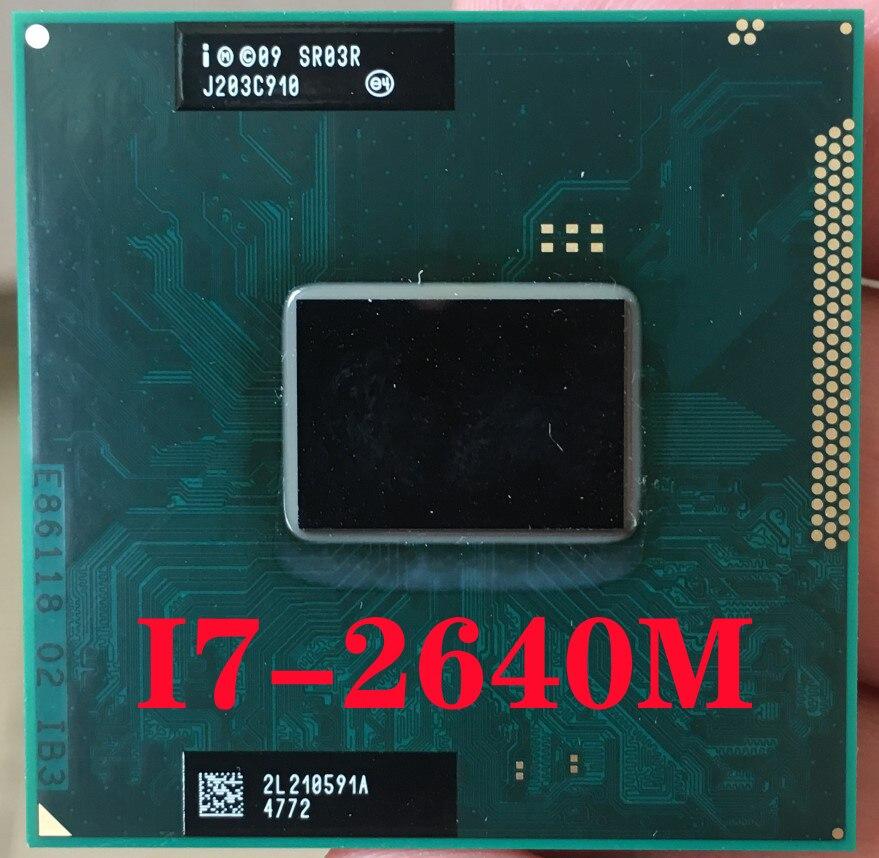 FF8062701065100 Processor Intel Core i7-2860QM 2.5 GHz 8 MB Quad-Core