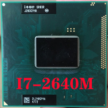 SR03R Intel Core I7-2640M Laptop Processor Socket G2 RPGA988B Notebook Cpu 100% Goed Werkt I7 2640M