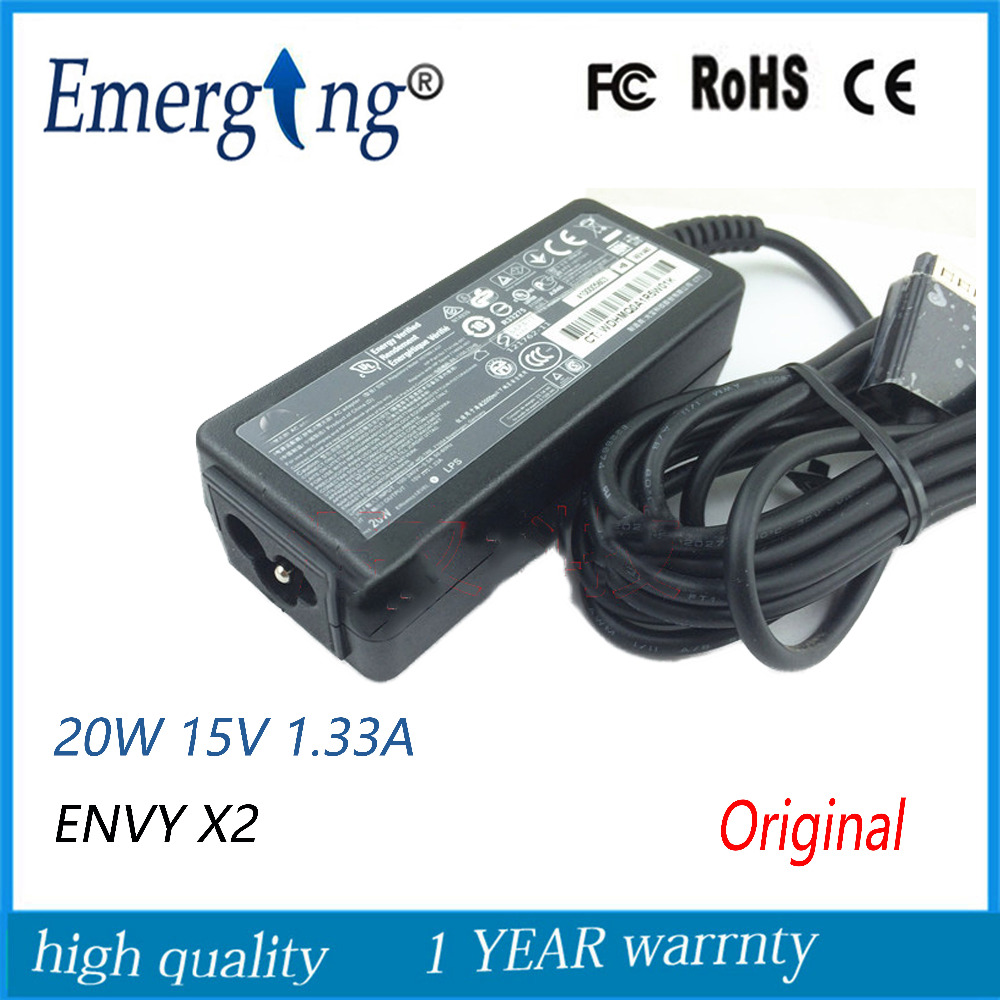 New Original 15V 1.33A AC Power Laptop Adapter Charger For HP ENVY X2 714656-001 714148-001