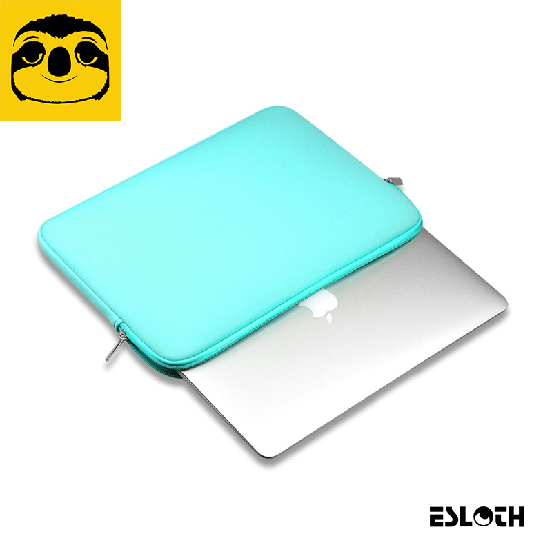 New ESLOTH T266 Green Sleeve Case For Macbook Air Pro Retina 11.6