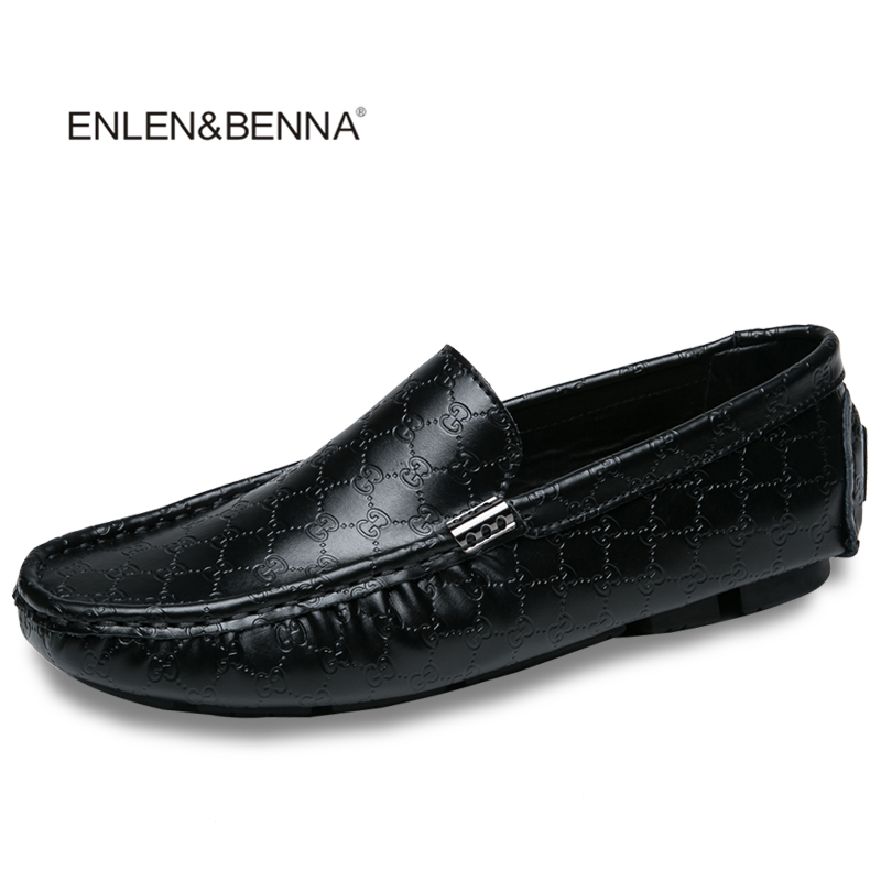 Men Leather Flats Shoes 2017 Spring Summer Men's Boat Shoes Black Casual Loafers Elegant Moccasin Leisure FootWear Big Size38-48 2017 new fashion summer spring men driving shoes loafers real leather boat shoes breathable male casual flats