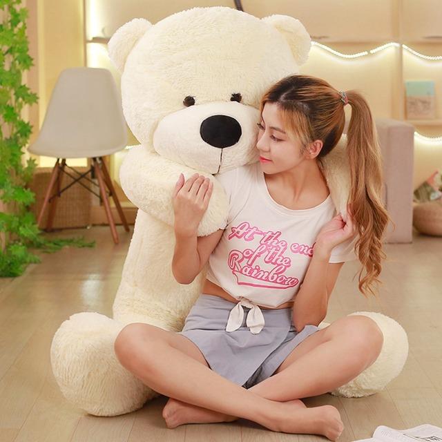 Giant Plush Teddy Bear