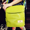 SmartNee Mujeres bolsas bolso del color del caramelo de las mujeres de moda del todo-fósforo del bolso del cubo de un hombro bolsa cruzada cuerpo pequeño