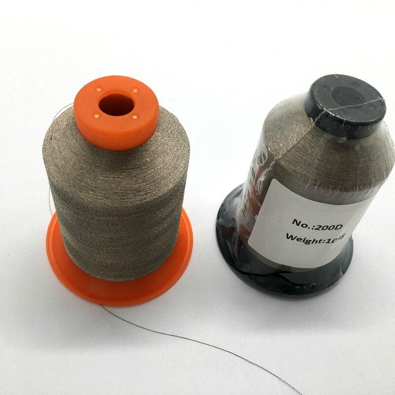 Anti straling zilver gecoat naaigaren geleidende vezels garen-in Naaigaren van Huis & Tuin op  Groep 3