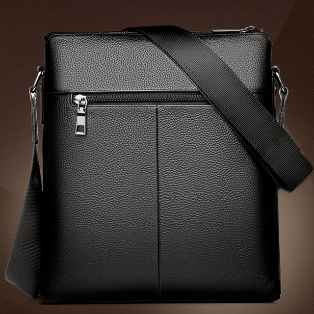 Casual Men Messenger Bags Crossbody Bags Men's Shoulder Bag Hot Selling High Quality pu business Briefcase 3
