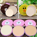 Cute Cartoon Foundation Powder Contour Makeup Waterproof Minerals Matte Face Whitening Makeup Concealer Pressed Powder Palette