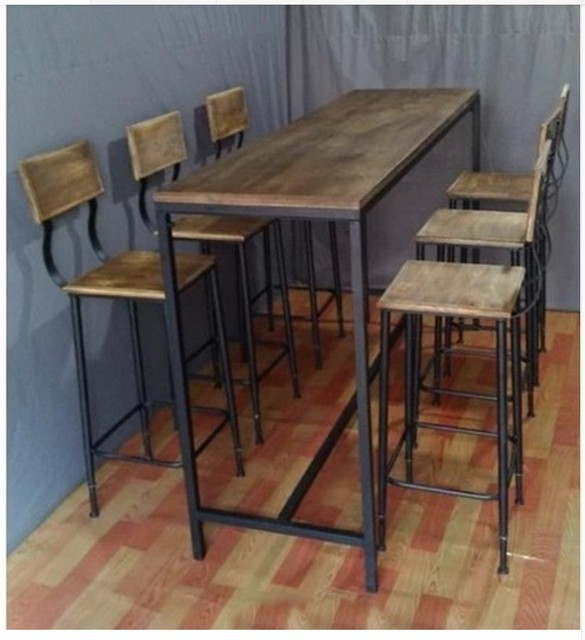 Incroyable Vintage American Country Wrought Iron Bars Wrought Iron Tables And Chairs  Starbucks Coffee Tables And Chairs