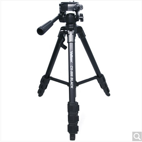 Velbon CX-888 Sections Aluminium Travel Compact Tripod leg