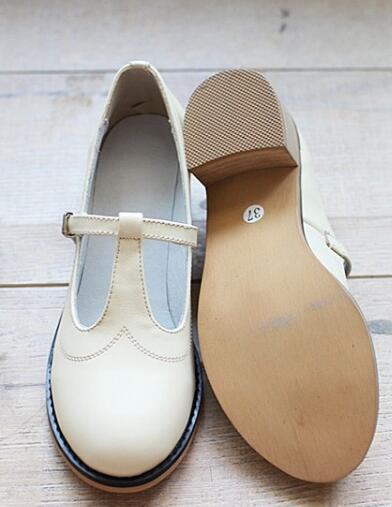 New 2014 Genuine Leather pure handmade shoes,  the retro art mori girl shoes,Women's casual shoes Flats shoes,soft surface