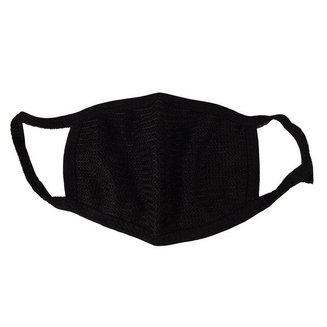 Kış Açık Anti-toz Pamuk Ağız Yüz Maskesi Siyah Sıcak Moda Bisiklet Giyen maske dayanıklı ağız maskesi maskesi Sağlık