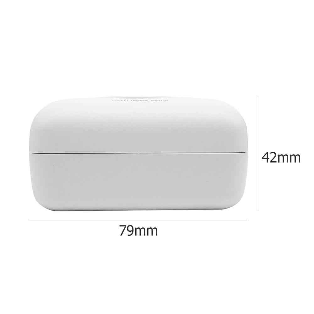 Mini Impressora Bluetooth Térmica Portátil 58mm Mini Sem Fio Imagem Photo Printer POS Térmica para IOS Android Telefone Móvel