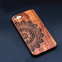 Original Retro Handmade Wood Case For iPhone 5 5s 6 6s 6 Plus Wood PC Hard Back Phone Cases Coque Cover