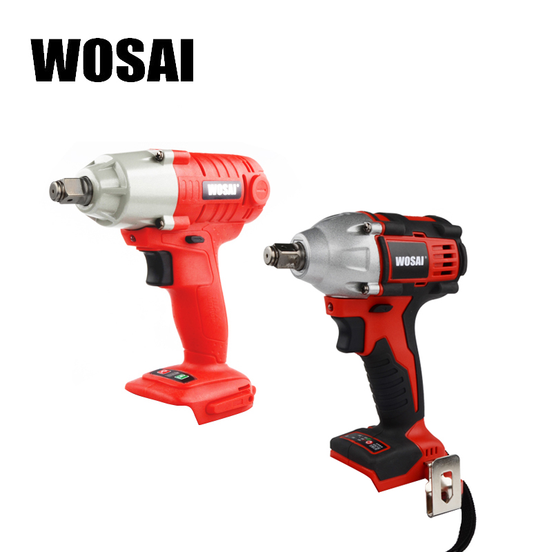 WOSAI 20V Electric Wrench Lithium Battery Max Torque 280N.m 320N.m Cordless Electrical Impact Wrench Cordless Drill-in Electric Wrenches from Tools    1