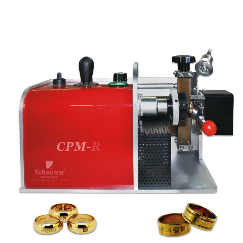1PC Ring Engraver Gold And Silver Bangle Carving Machine DIY Ring Inner Hole Engraving Printing Equipment