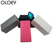 OLOEY 2018 New Handmade High-end Glasses Box Sunglasses Men And Women Protection Rectangular Accessories
