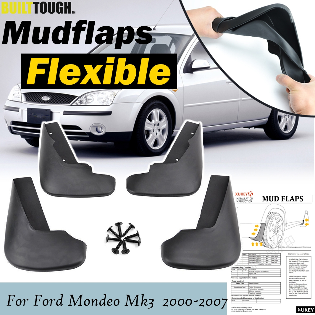 XUKEY For C-Max Focus Grand 2003-2010 Mudflaps Mud Flaps Splash Guards Mudguards Dirty Traps Front Rear 4pcs Set