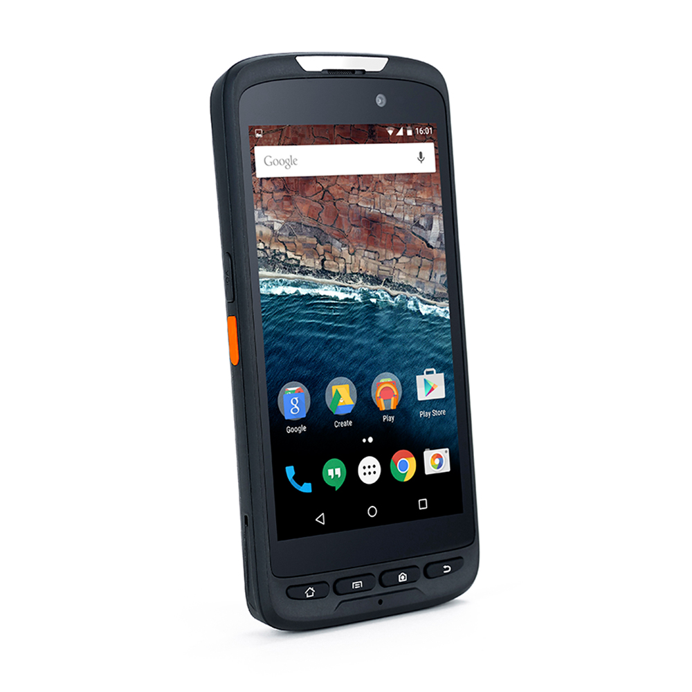 Rugged Outdoor Handheld PDA IP65 Android 8.1 OS Data Terminals NFC Reader 5 Inch Touch Screen Barcode Scanner