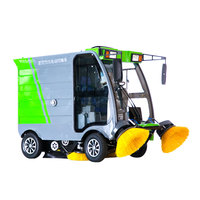 High Preference Robotic Floor Sweeper Machine Electric Outdoor Sweeper Tow Industrial Sweeper ART S16