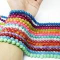 "Wholesale Pick Colors Natural Gem Stone 8mm 15"" Faceted Jade Jasper Loose Beads for Bracelet DIY Jewelry Making"