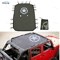 1 Pcs Car Sticker Mesh Shade Full Top Cover UV Sun Protection Insulated Net Auto Accessories