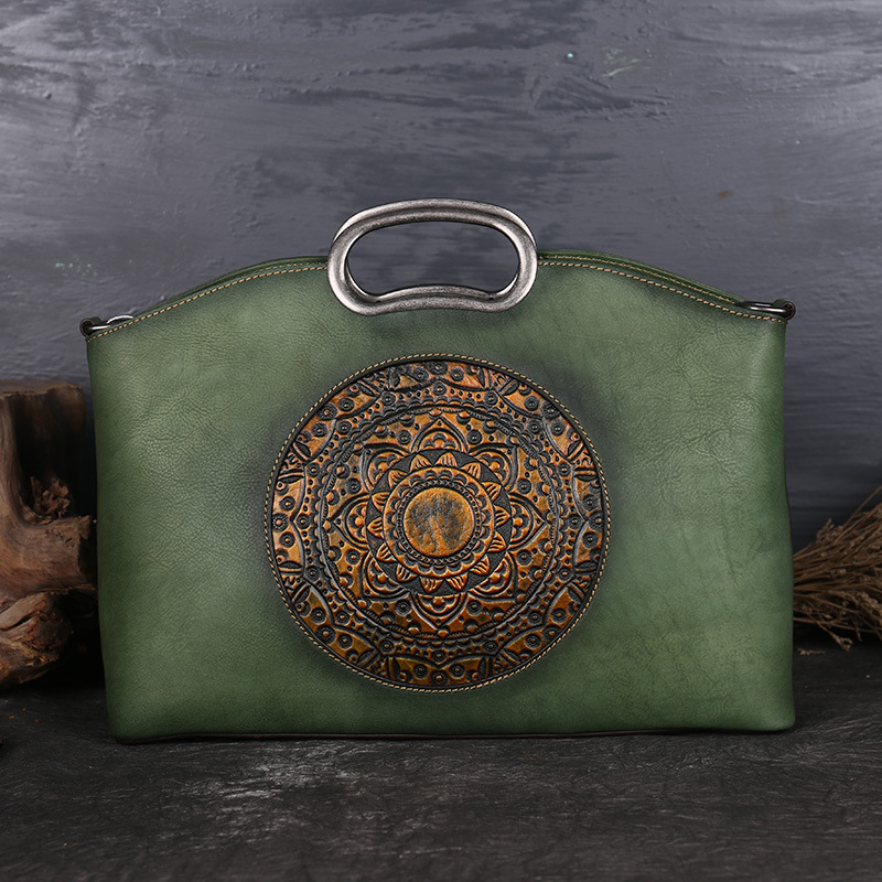 New Designer Vintage Women Genuine Leather Handbags Ladies Retro Elegant Shoulder Messenger Bag Cow Leather Handmade Womans BagsNew Designer Vintage Women Genuine Leather Handbags Ladies Retro Elegant Shoulder Messenger Bag Cow Leather Handmade Womans Bags