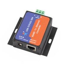 Module de convertisseur Ethernet RS485 vers tcp/ip, série USR TCP232 304, DHCP/DNS, de page web intégrée, avec prise en charge Q14870
