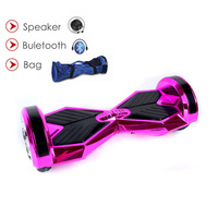 Hoverboard 8 Inch LED Light Bluetooth Electric Skateboards Samsung Battery APP Self Balance Scooters Adult Electrico
